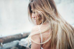beïnvloeder blonde